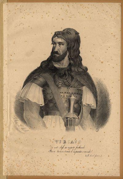 Viriato. L. Silva. 1839. Biblioteca Nacional de Portugal