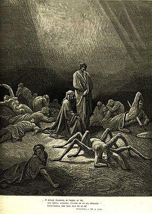 1861. Gustave Duré. Aracne