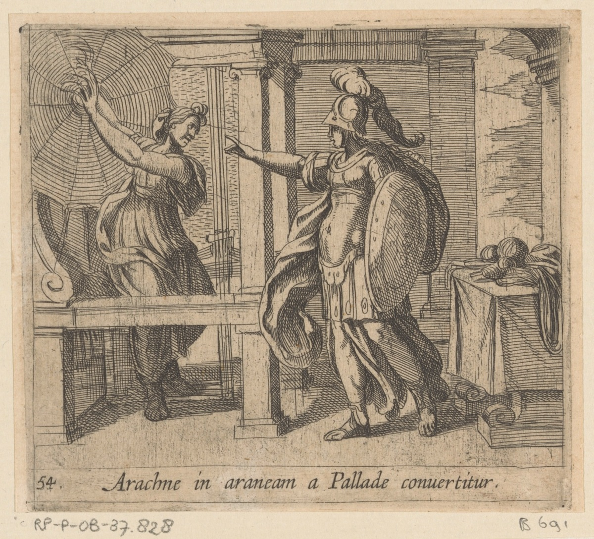 La soberbia de la impiedad: hibris, mito y castigo en Aracne